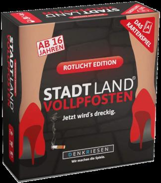 Stadt Land Vollpfosten (Rotlicht)