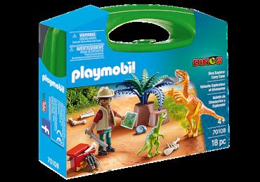 Playmobil-Mitnehm-Set Dino Forscher
