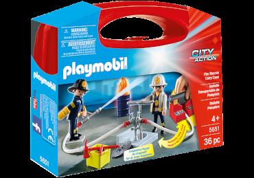 Playmobil-Mitnehm-Set Feuerwehr Notfall
