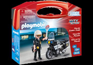 Playmobil-Mitnehm-Set City Action Polizei