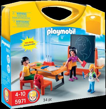 Playmobil-Mitnahme-Set City Life Schule