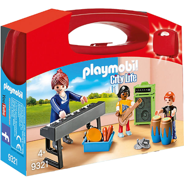 Playmobil-Mitnehm-Set City Life Musik