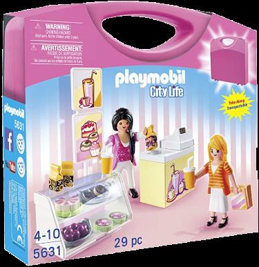Playmobil-Mitnahme-Set City Life Bäckerei