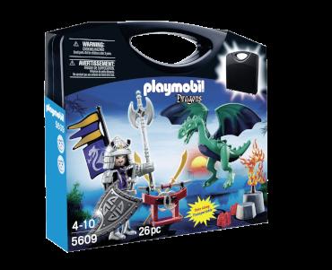 Playmobil-Mitnehm-Set Samurai gegen Drache