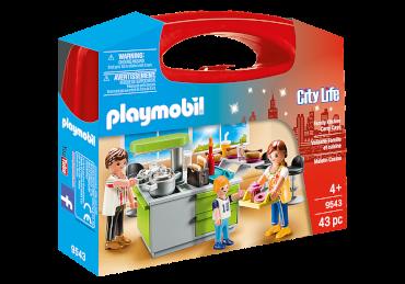 Playmobil-Mitnehm-Set Familienküche