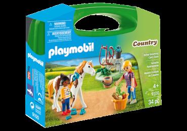 Playmobil-Mitnehm-Set Pferdepflege