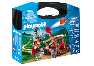 Playmobil-Mitnahme-Set Ritter mit Katapult