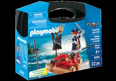 Playmobil-Mitnahme-Set Piratenfloß