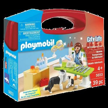 Playmobil-Mitnehm-Set City Life Tierarzt